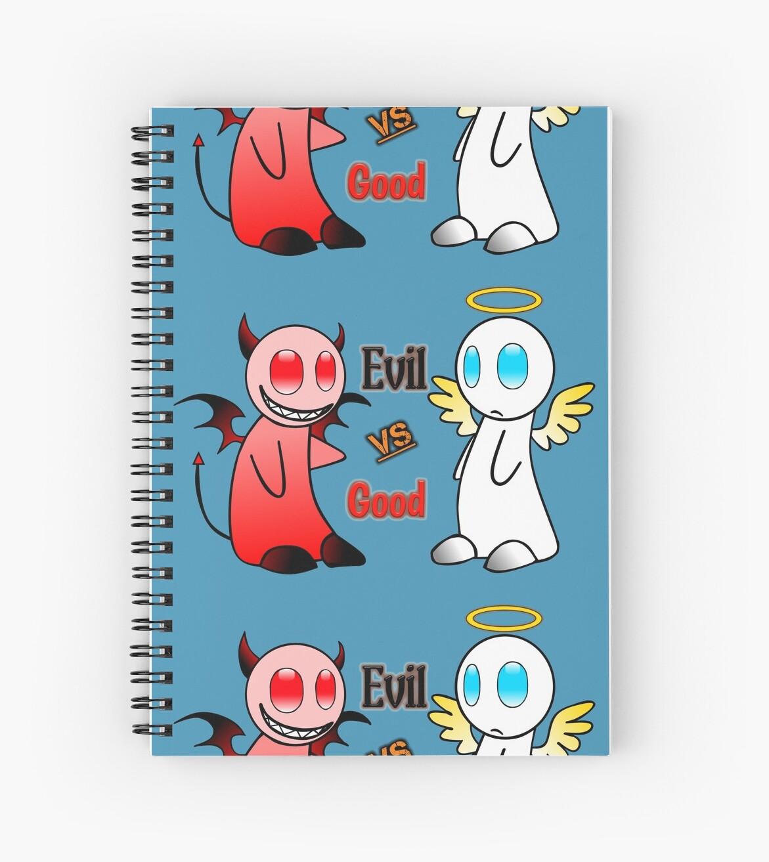 Good or evil by Patrickauger