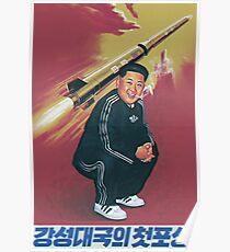 Tracksuit Rocket Man Poster