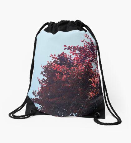 Lieber roter Baum Turnbeutel