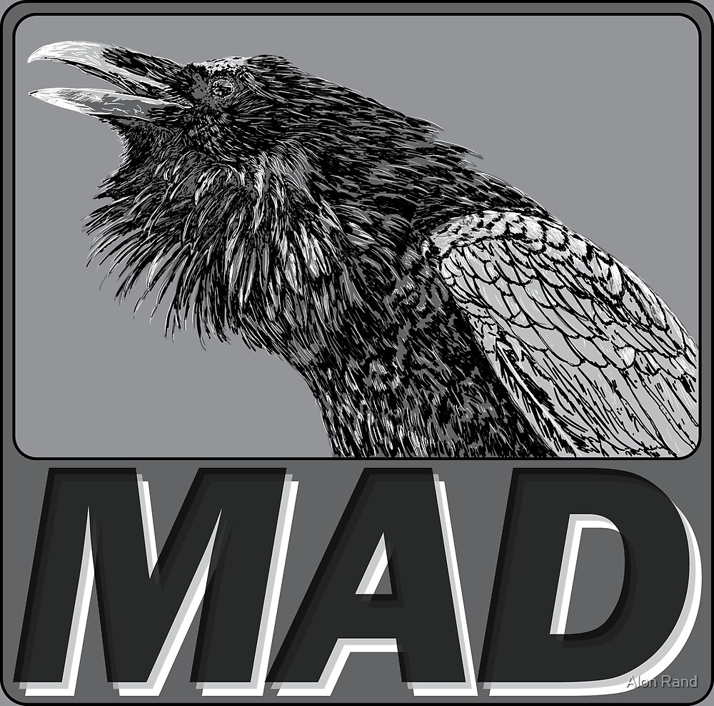 Raven Mad by Alon Rand