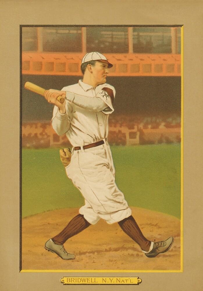 Al Bridwell MLB Player by CJ Anderson