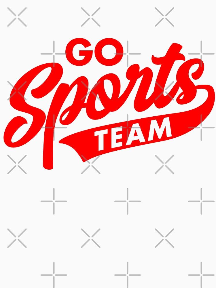 Go Sports Team by DetourShirts