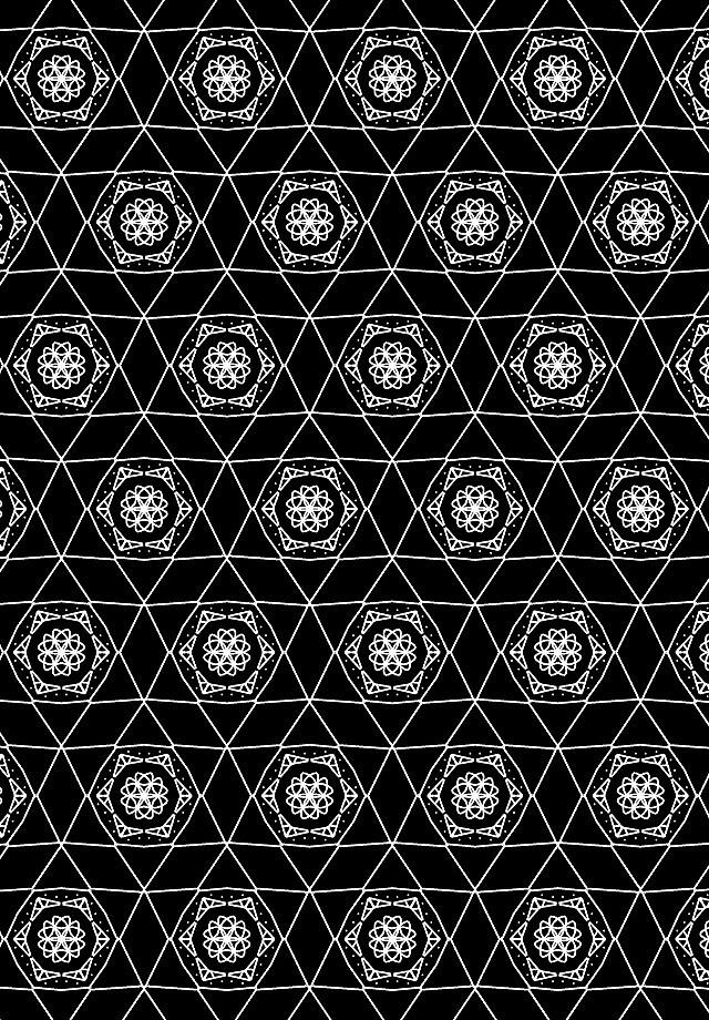 Black and white lines by Eddagraham