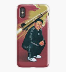 Tracksuit Rocket Man iPhone Case