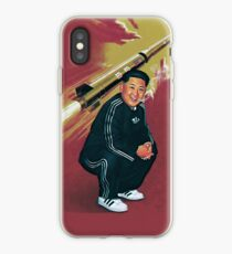 Tracksuit Rocket Man iPhone Case