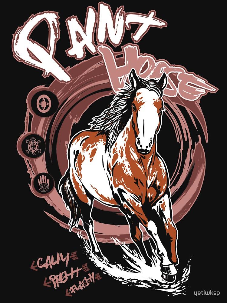 Paint Horse by yetiwksp