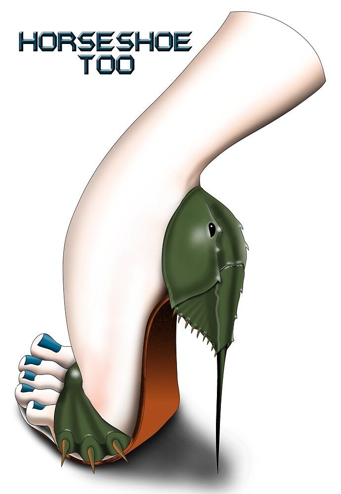Horseshoe Crab Shoe by AnarKissed