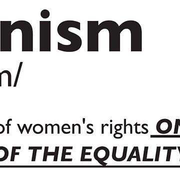 Feminism by socialsloth