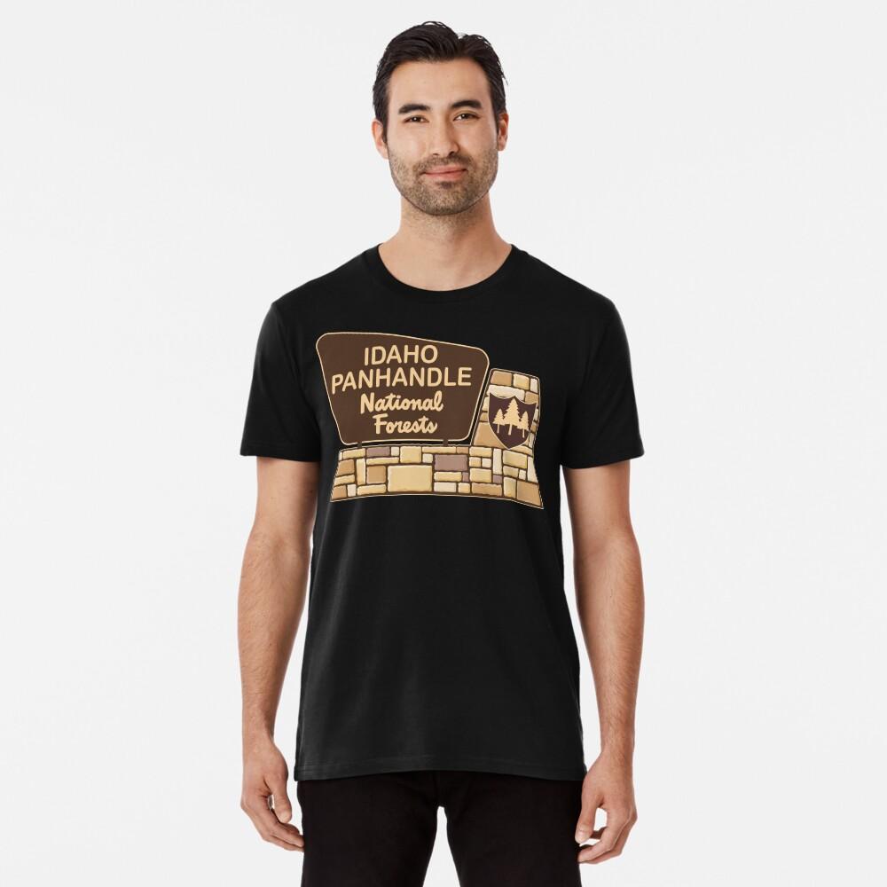 Idaho Panhandle National Forests Premium T-Shirt