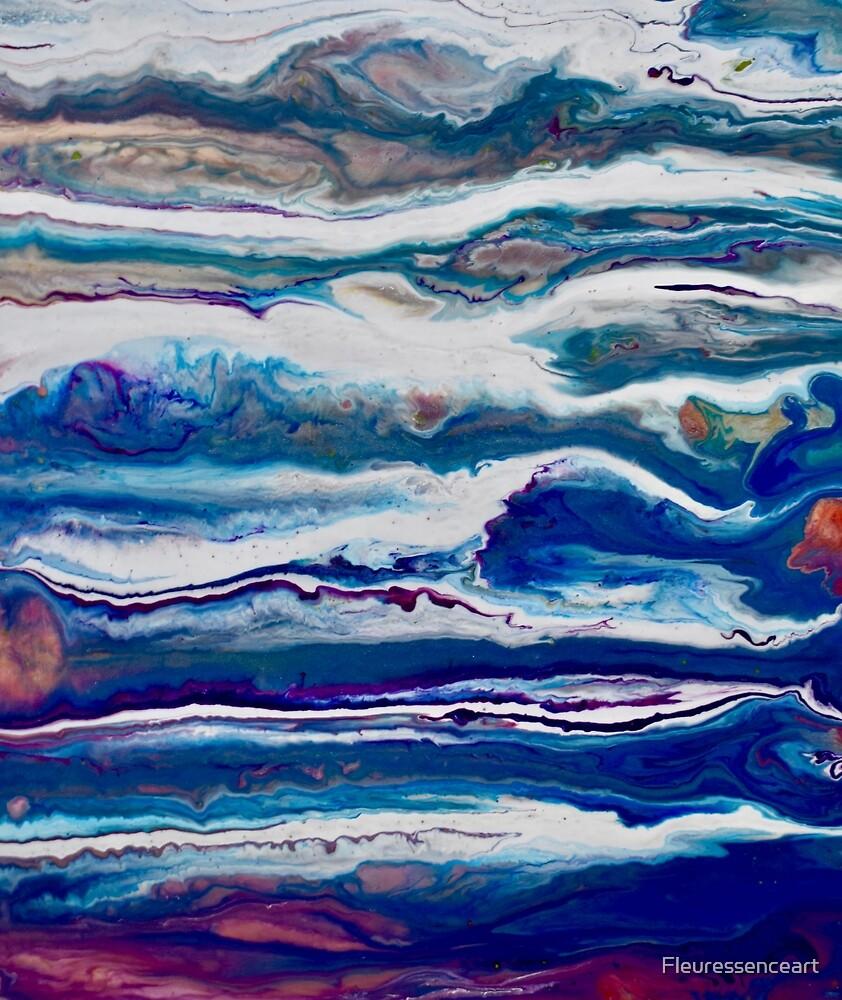Magie cosmique 3 - Abstrait by Fleuressenceart