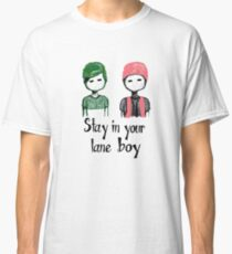 QUOTE 2 BOYS  Classic T-Shirt