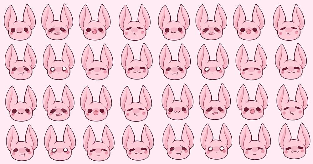 The Batsies! Repeating bats. by BurntSugar
