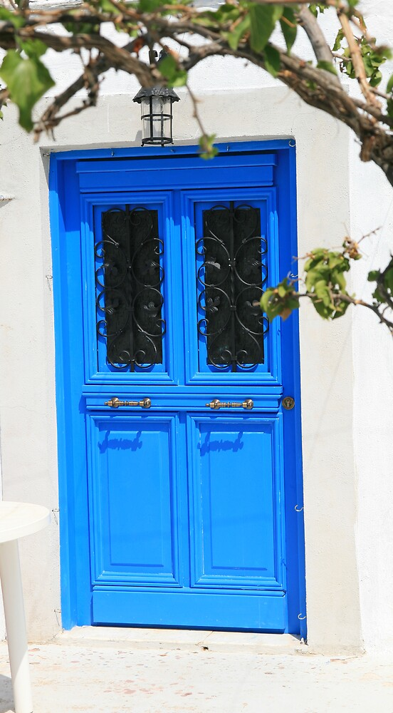 Cottage Door at Hydra by DRWilliams