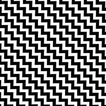 Black and white chevron design zigzag by kassandry31