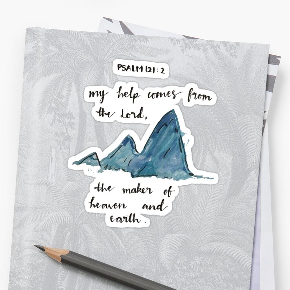 psalm 121:2 by Daria Smith