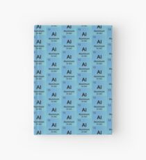 Aluminum Hardcover Journal