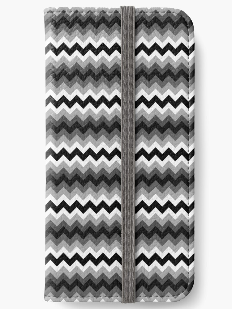 Zigzag chevron black and white and gray colors by kassandry31