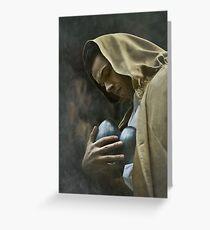 Prayer For The Frail Greeting Card