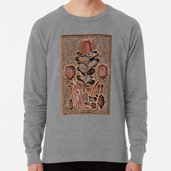 Articial Intelligence created Banksia Coccinea (Ferdinand Bauer) #CreateArtHistory  Lightweight Sweatshirt