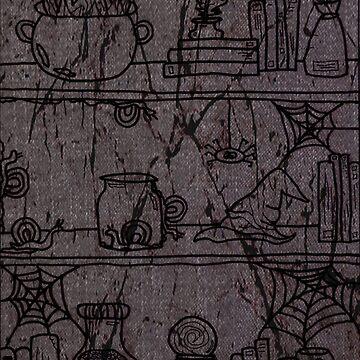 Professor's Secret Shelf by nadiairianto