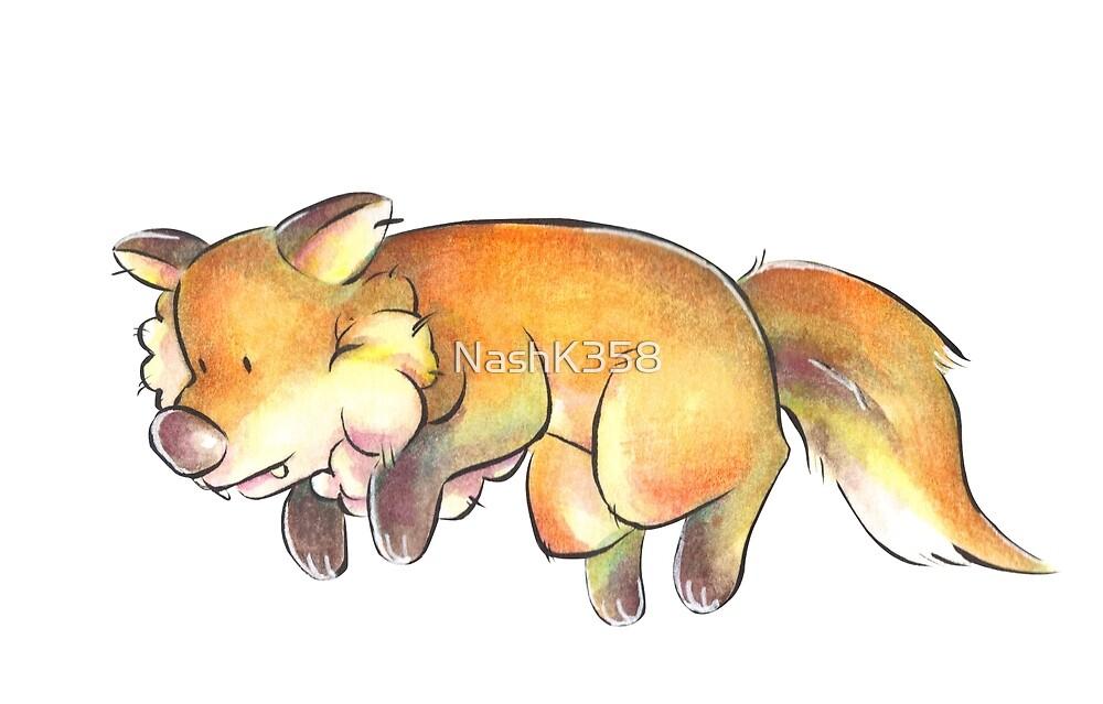 Lumen The Fox by NashK358