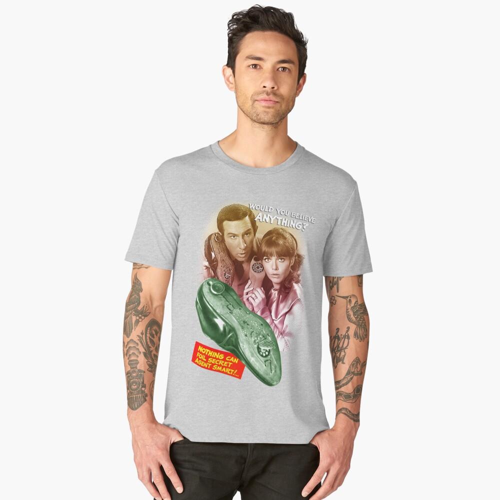 Get Smart! Men's Premium T-Shirt Front