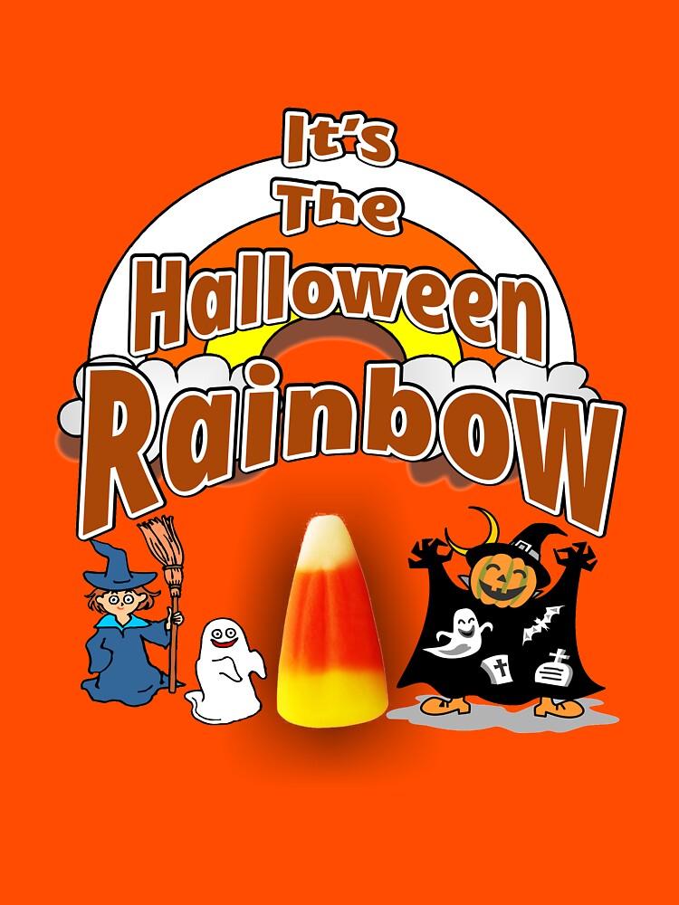 It's The Halloween Rainbow by RDGGlobal