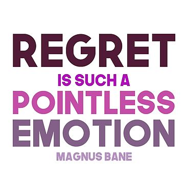 Magnus Bane - The mortal instruments - Regret by Taylahpaper