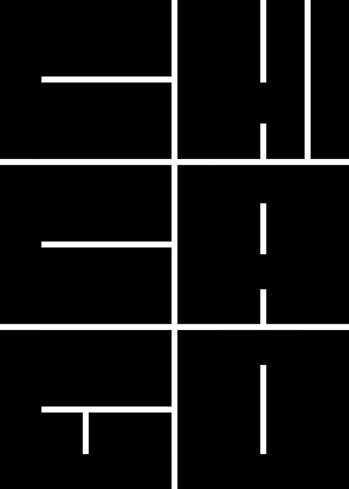 CHICAGO ILLINOIS City Block Graphic by joshbergman