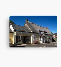 Gift Shops in Church Hollow, Godshill  Canvas Print