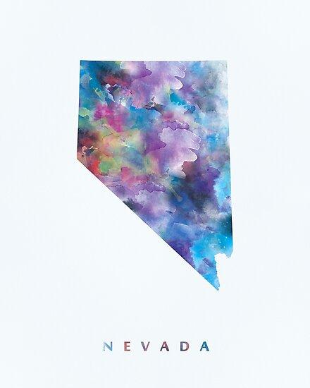 Nevada by MonnPrint