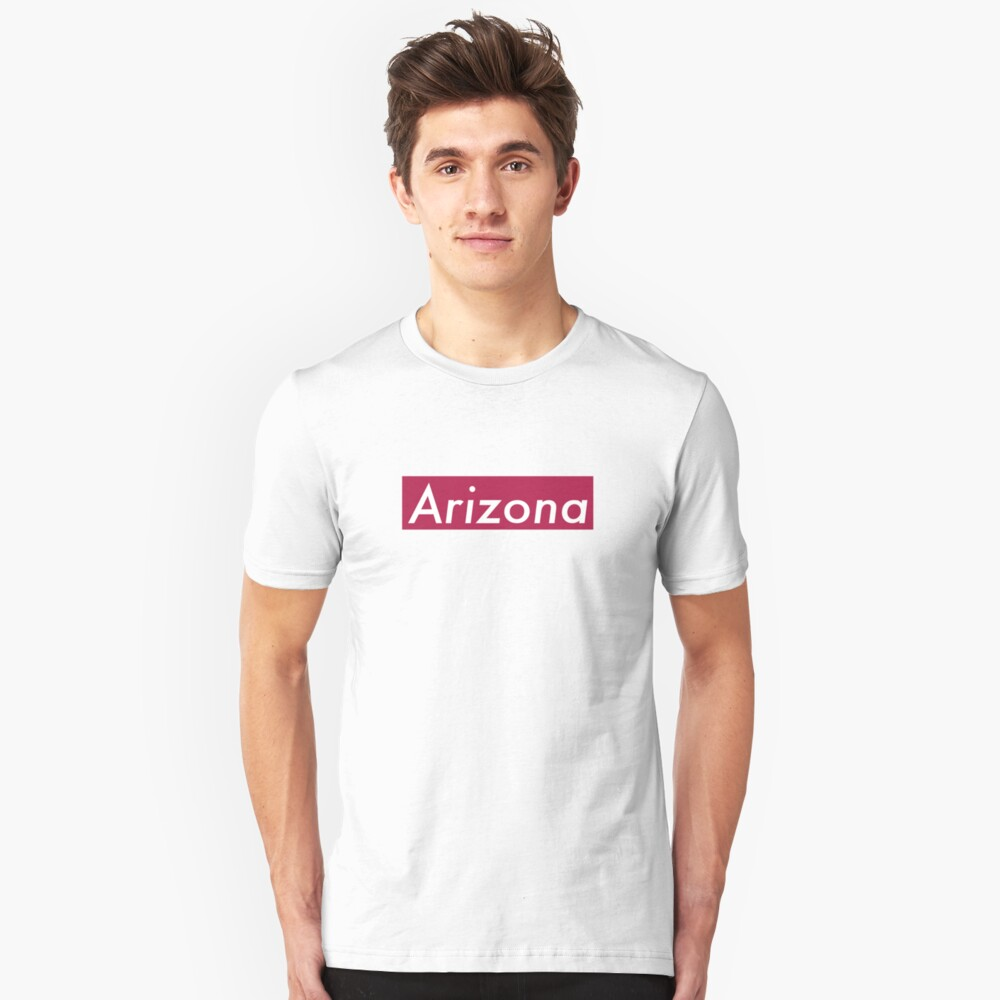 Supremely Arizona (Red) Unisex T-Shirt Front