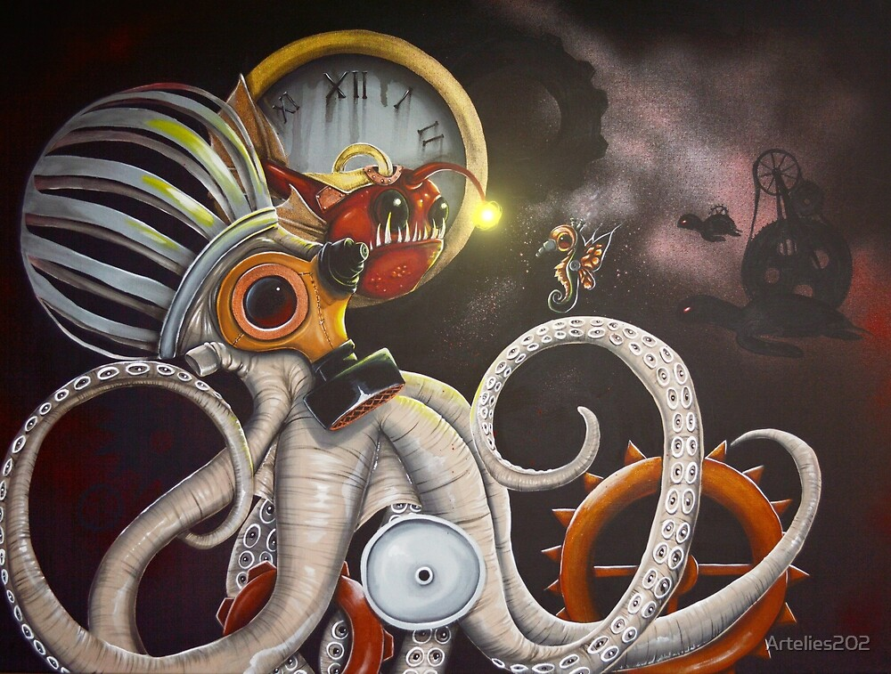 steampunkocto by Artelies202