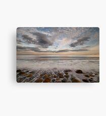 stone beach impressions Canvas Print