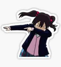 Nico Yazawa Dabbing Sticker