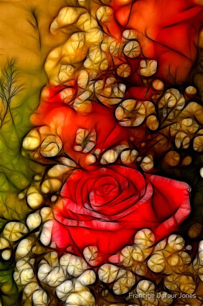 Wedding Roses I by Francine Dufour Jones