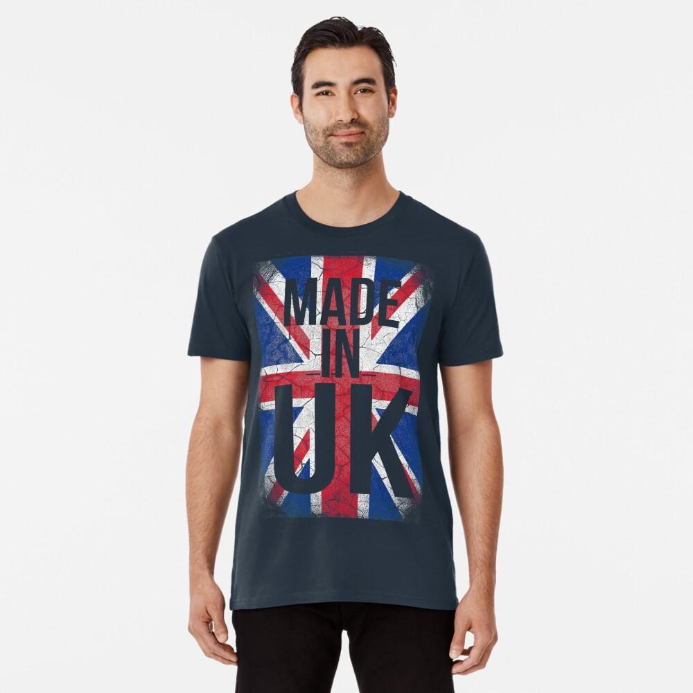 Made in UK Men's Premium T-Shirt Front