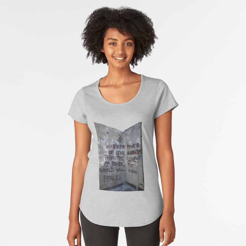 Power of love, Defend DACA, Resist, Persist Women's Premium T-Shirt Front
