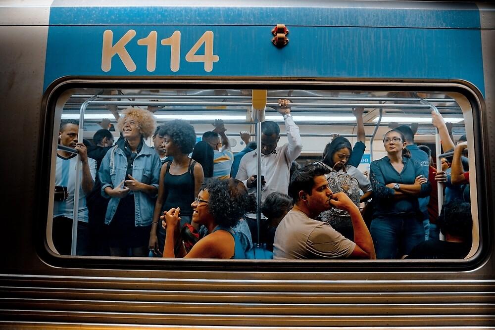 instântaneo de janela de trem by Claudio Pepper