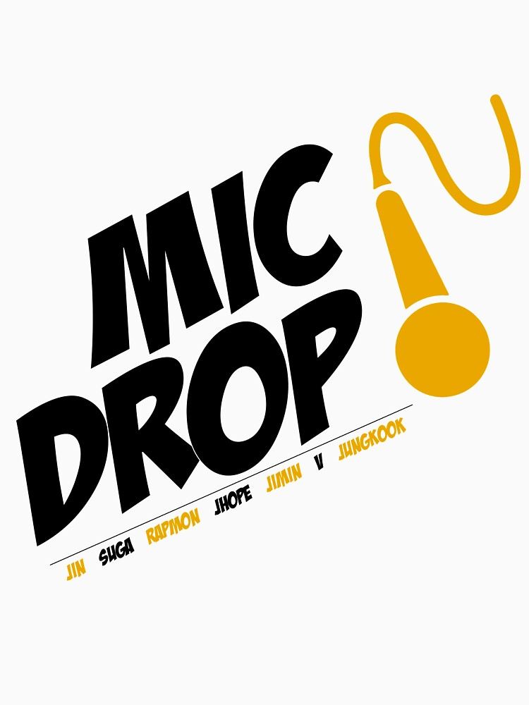 Bangtan Boys BTS Mic Drop- Black  by thinkkpop