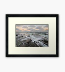 (e)motional sea Framed Print
