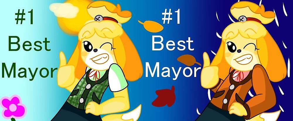 #1 Mayor Mug by TheSlinkyKid