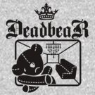 DeadbeaR T-shirt 1 by Vivian Lau