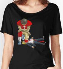 Kap knee Trump shirt Women's Relaxed Fit T-Shirt