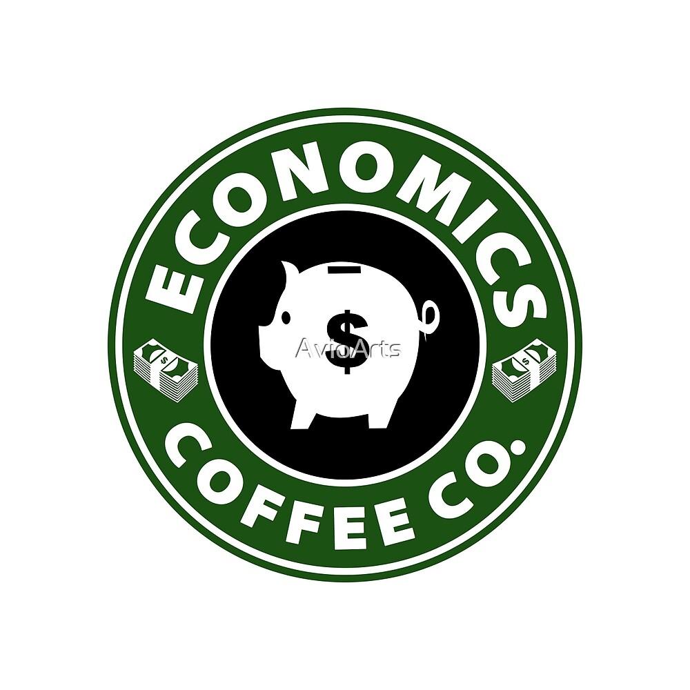 Economics Coffee Co. (Piggy Bank) by AvioArts