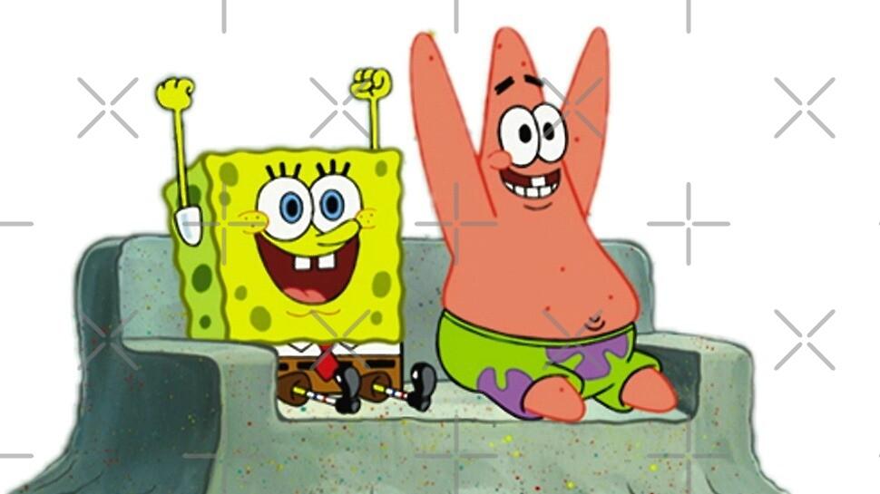 Spongebob and Patrick by lorih96