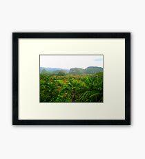 Mogotes, Vinales Framed Print