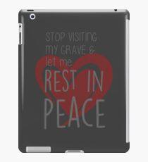 buffy - rest in peace iPad Case/Skin