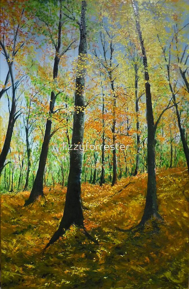 Forrest in fall by lizzyforrester