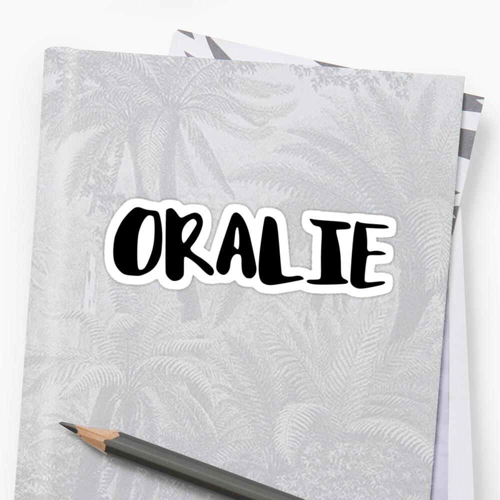 oralie by FTML
